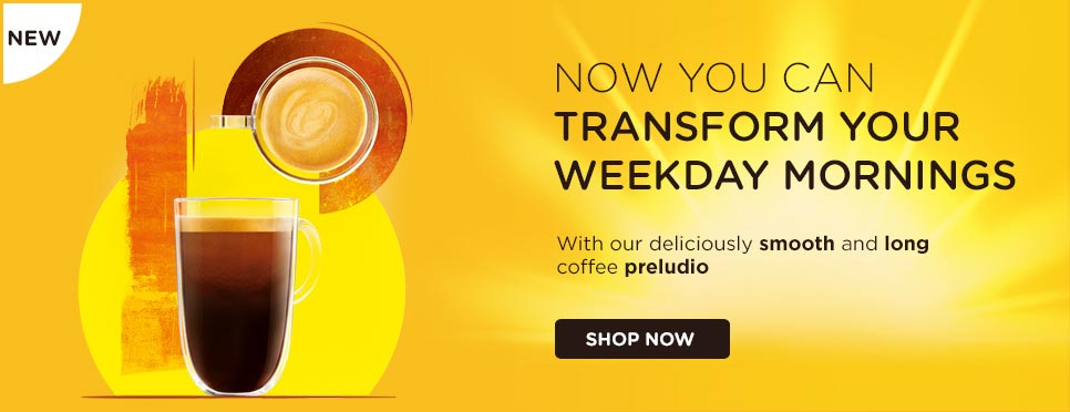 Transform your weekday mornings with Preludio
