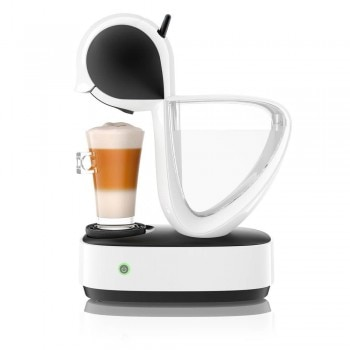 Infinissima® White & Black by Krups® pod coffee machine