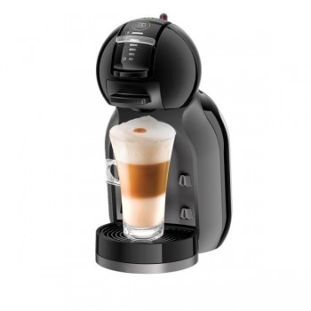 Mini Me Automatic Matt Black coffee machine by Krups
