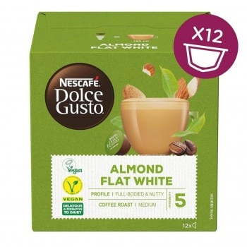 Plant-Based Flat White Almond Front