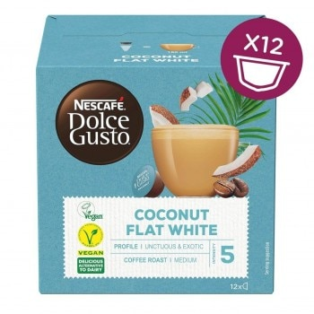 Plant-Based Flat White Coconut Front