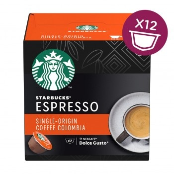 STARBUCKS Single-Origin Colombia Medium Roast Espresso